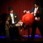 Extrait de la soirée Magie Burlesque au Théâtre le 57