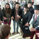 07/12/2017 Magicien Gabko au marché de Noël de Paul Sabatier