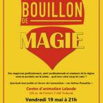 19/05/2017 Acho et Gabko au Bouillon de Magie à Toulouse